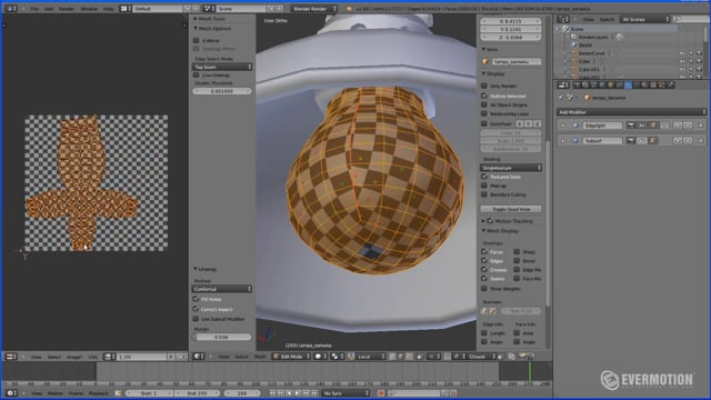 Unwrapping in Blender