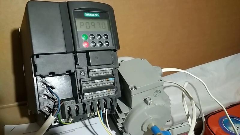 Частотный преобразователь Micromaster 440 Сброс к заводским настройкам
