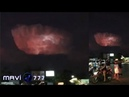 Strange cloud formation looks like a Spaceship over Thailand! April 25 2019