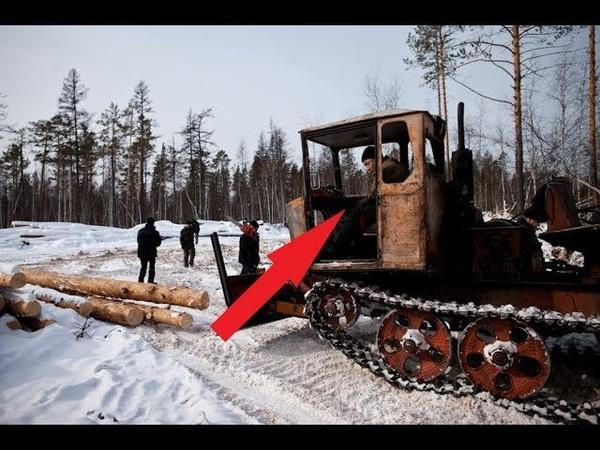 УВОЛЕН, крикнул трактористу НАЧАЛЬНИК! Но тот взял монтировку в руки и понеслось!