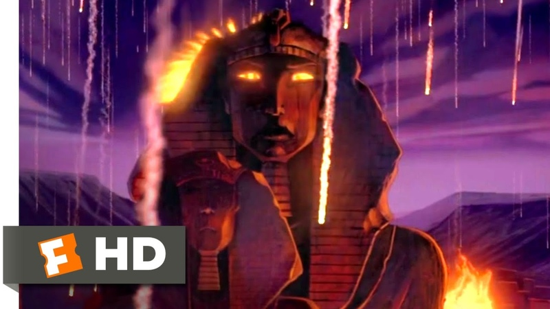 The Prince of Egypt (1998) - The 10 Plagues Scene (610) | Movieclips
