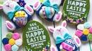 Easter Cookies..Cute Bunny 🐰🌸🐰