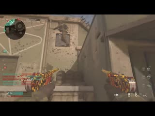 Finally got a clip with a clean instaswap while grinding for chrome. black ops 4