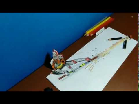 3D Art   Drawing Wukong Freefire