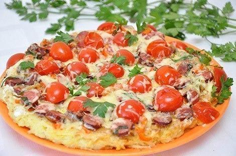 Рецепты пиццы. Готовим на большую компанию!)