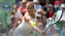 Karolina Pliskova vs Monica Puig Wimbledon 2019 second round match highlights