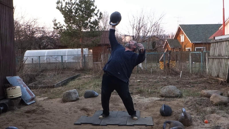 60 KG KETTLEBELL HAND TO HAND TOSSING AND PALM PRESS 3REPS ЖИМ ГИРИ 60 КГ НА ЛАДОНИ ПО ДЦ 3РАЗА