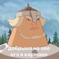 Анкета Nikita Shamatienko