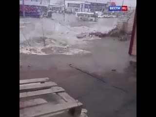 В столице Черноземья целый район города остался без водоснабжения
