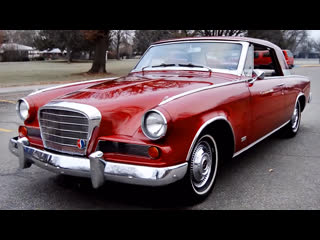 Автомобиль studebaker gran turismo hawk, 1963 года