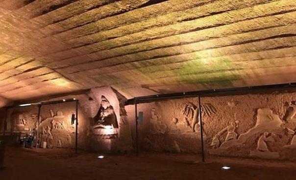 Обнаруженная в Китае древняя пещера Лунъю имеет следы неизвестной технологии выработки