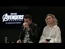 Interview of Brie Larson, Jeremy Renner & Russo Brothers with The NZ Herald