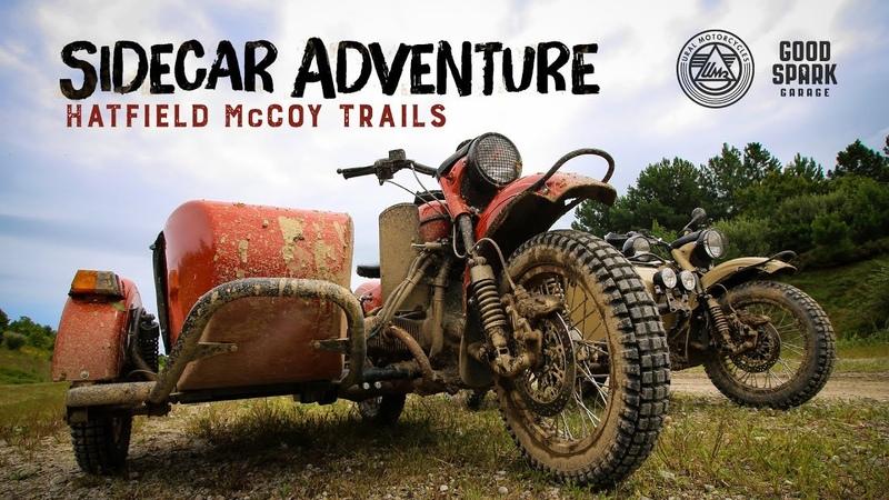Sidecar Adventure on the Hatfield McCoy Trails