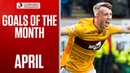 🚀 Mullen's 90th Minute Rocket Volley! | April's Goals of the Month | Ladbrokes Premiership