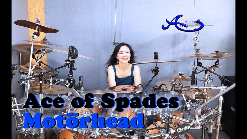 Motörhead- Ace of Spades drum cover by Ami Kim (58)