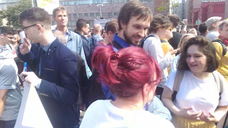 Митинг на проспекте Сахарова 20 07 19 полная версия