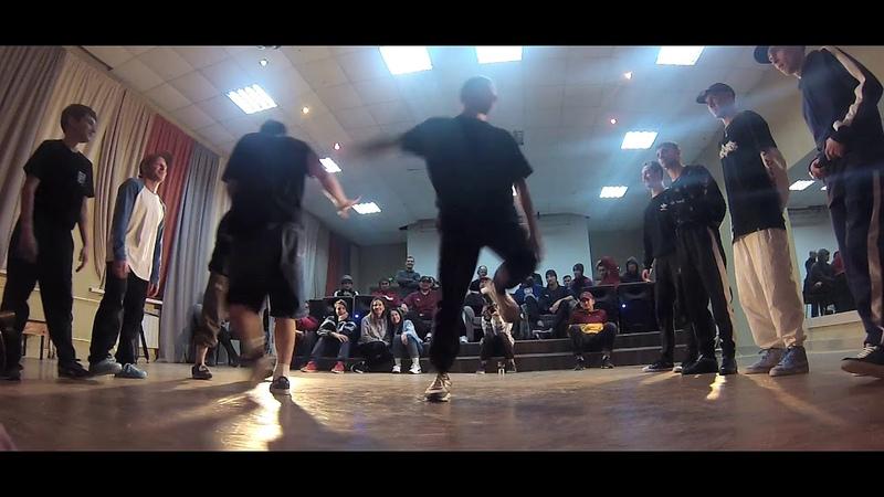 Studio 187 vs SPB Flava ↔ FINAL ↔ CREW BATTLE ↔ BUSTA MOVE 20th ANNIVERSARY ↔ 01.12.18 bboy dance
