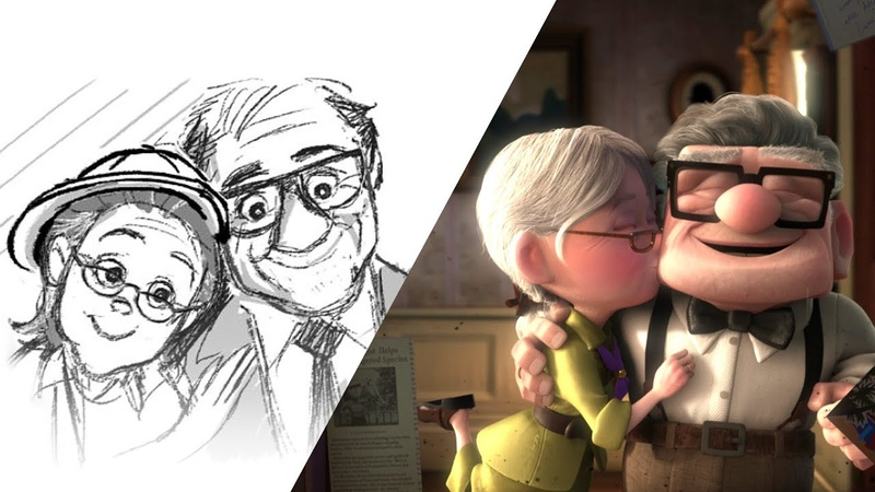 Up Married Life | Pixar Side by Side