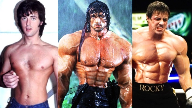 Sylvester Stallone Transformation | From 0 To 72 Years Old | Training For Rambo 5