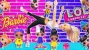 ЛОЛ ПРОТИВ БАРБИ в лагере! Мультики куклы Лол и Барби, Подруги Буги Вуги