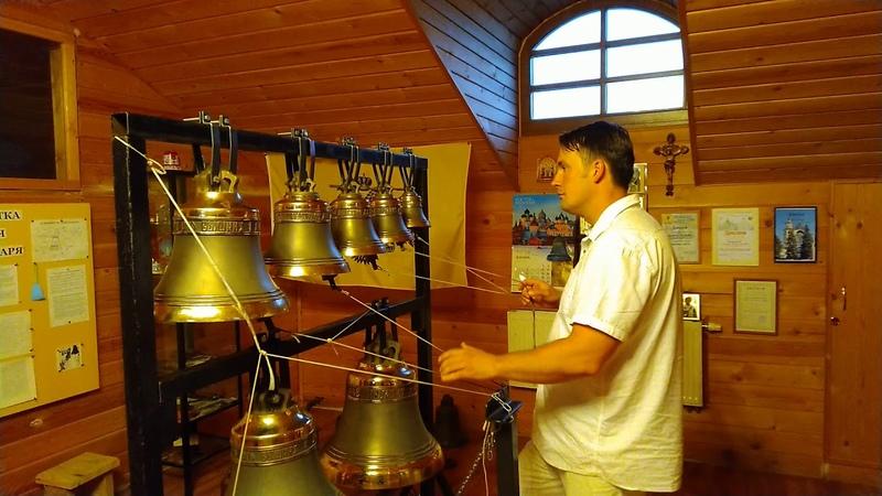 Видеоуроки колокольного звона Разнообразие зазвонных колоколов