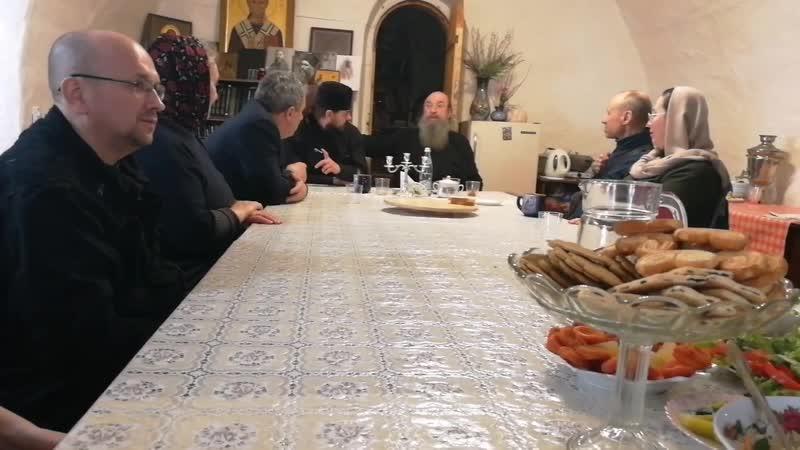 Встреча с архимандритом Мелхиседеком (Артюхиным)