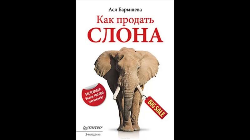Как продать слона, или 51 прием заключения сделки Ася Барышева Аудиокнига