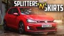 MK7 GTI | **SKIRTS 'N' SPLITTERS**