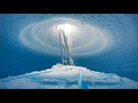 Случившееся в Антарктиде с крыть не удалось.Ледяной палец с мерти превращает в лед все,к чему касает