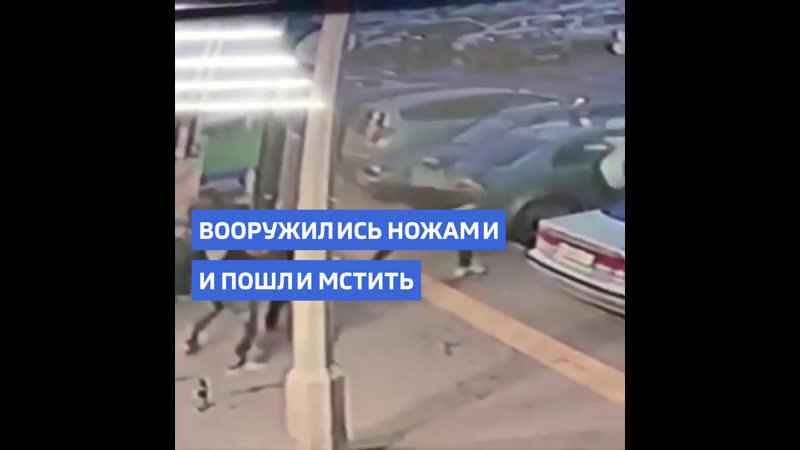 В Красноярске словесная перепалка закончилась поножовщиной