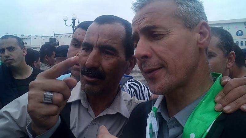 تصريح مراسل قناة المغاربية خلال مظاهرات ا16