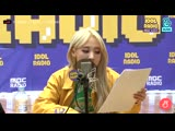 Byul rapping Waggy. - You can clearly hear her excellent rap flow even without the bgm. (1)