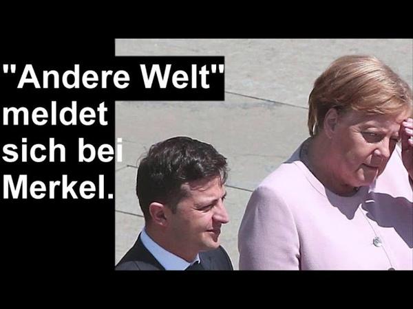 So eine Synchronizität ist niemals Zufall Merkel und die Kornkreise
