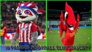 10 FAMOUS FOOTBALL CLUB MASCOTS | Man.United,Liverpool,Milan...