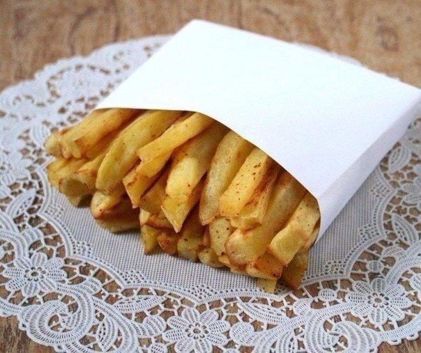 Готовим картошку фри в духовке!