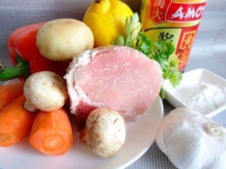 Свинина стир-фрай. Очень вкусное блюдо!