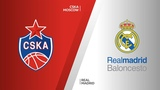 CSKA Moscow - Real Madrid Highlights Turkish Airlines EuroLeague Semifinals