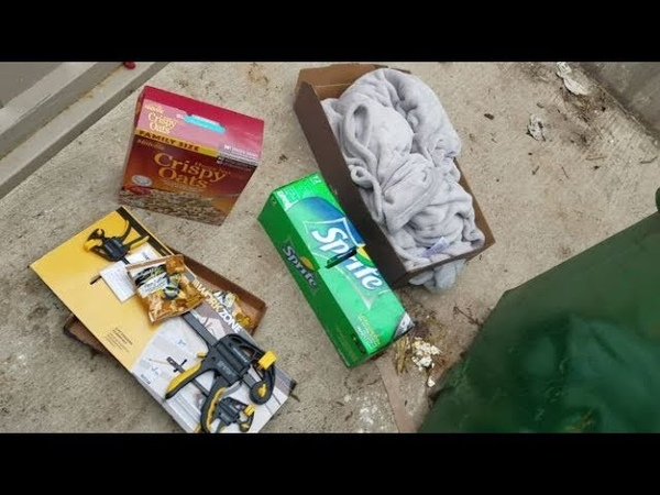 DUMPSTER DIVING ALDI DAILY VIDEO 49