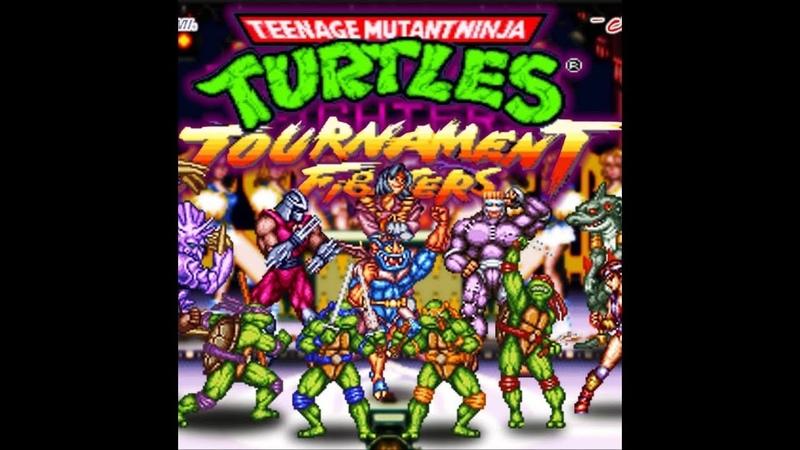 Турнир (Tournament) по игре TMNT TF (SNES) - 9) (EDGES VS tubustd) - 02.04.19