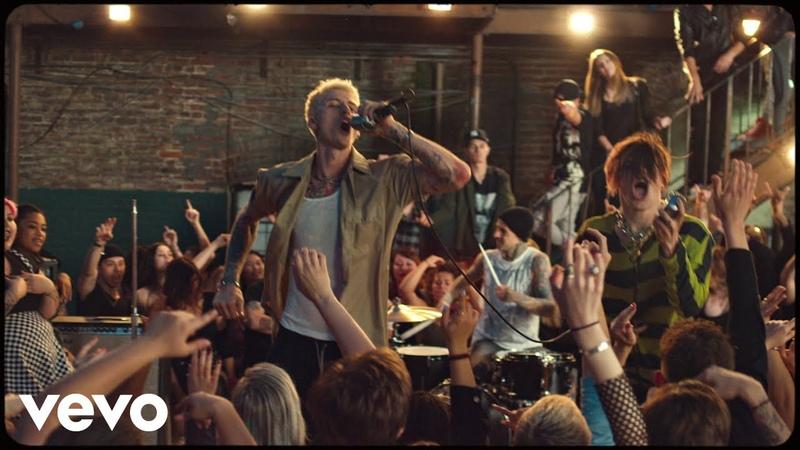 Machine Gun Kelly, YUNGBLUD, Travis Barker - I Think Im OKAY [Official Music Video]