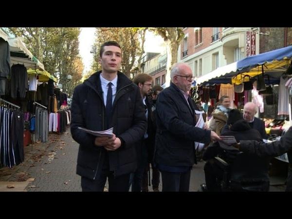 J. Bardella, le candidat FN qui veut des banlieues patriotes
