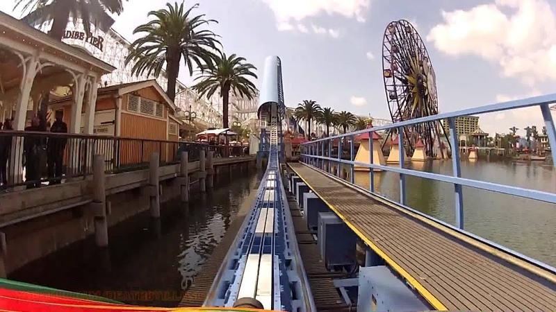 California Screamin Train Mount (HD POV) California Adventure