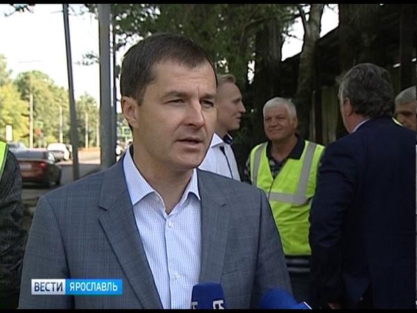 Ремонт улицы Гагарина в Ярославле идет с опережением графика