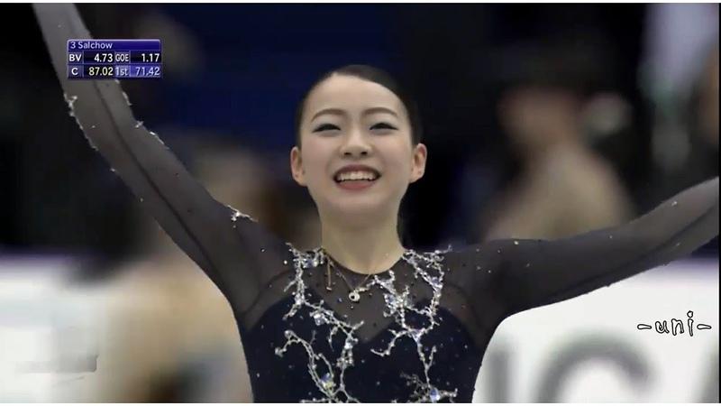 Rika KIHIRA - FS - 2018 NHK Trophy - 紀平梨花 - NHK杯