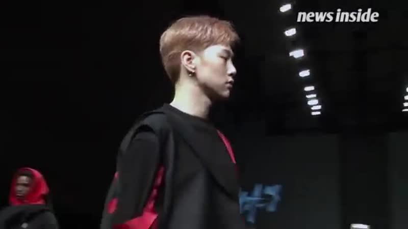 [NI영상] 권현빈, 무대 압도한 눈빛워킹 '모델돌의 정석' (서울패션위크)