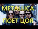 Ничего себе! Metallica Поет Цоя Группа Крови В Москве!