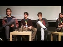 Henrik Holm, Rocco Fasano and Federico Cesari Panel High On Skam Convention