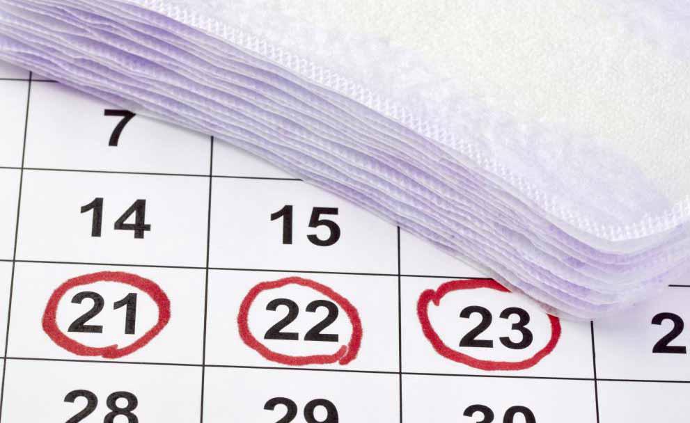 Разряд может увеличиться непосредственно перед менструацией из-за гормональных изменений