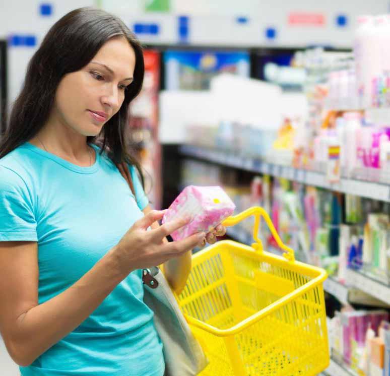 Гигиенические прокладки могут поглощать избыточные выделения из влагалища