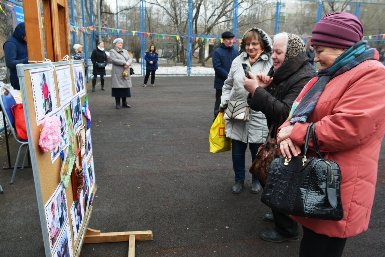 Выставка Московского долголетия